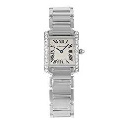 Tank Francaise White Gold Diamond Watch