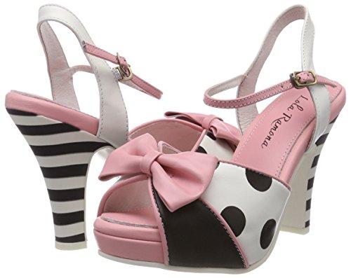 cream Angie Punta Rosa Donna Aperta 65 Lola Col Tacco pink Scarpe Ramona vxFpwqWX5B
