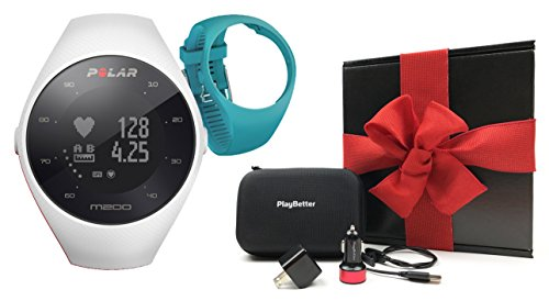 Polar M200 (White) Running GPS Watch Gift Box Bundle for sale  Delivered anywhere in USA
