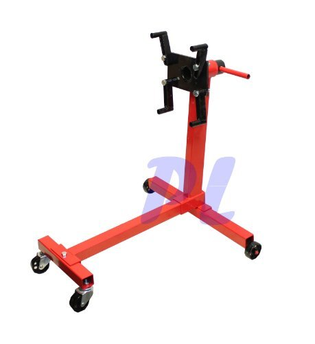 (1000Lb Engine Stand Heavy Duty Mobile Engine Cart 360 Degree Rotating)