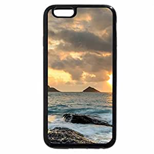 iPhone 6S / iPhone 6 Case (Black) Rough Rocks
