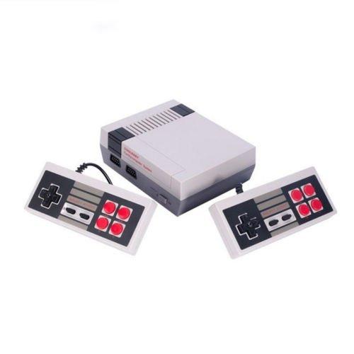 Zantec Family Game console - clá sico juego consolas sistema profesional para nes Game Player + construido en 600 TV video juego con controladores dobles, Normal ESYXJ-LMQ-dz-01633