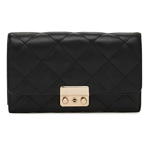 41Kl1Rv9B2L - Hbutler Women's MightyPurse Quilted Wallet Bag