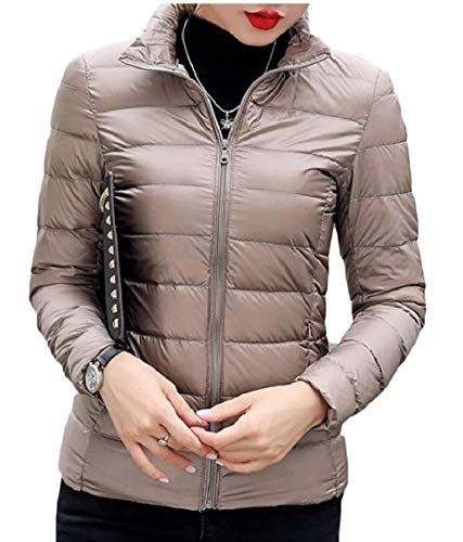 Lightweight Jackets Casual Women's security Gamel Coats Down Packable Puffer tq7vqgwz5