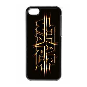 Star Wars Boba Fett Black PC Case Skin For Iphone 5c GHLR-T409356