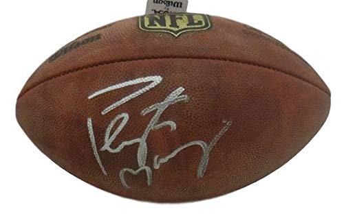 (Peyton Manning Autographed Signed Denver Broncos Authentic NFL Football - JSA Certified)