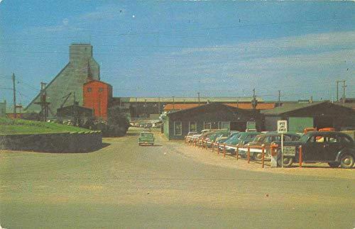 Flin Flon Montana Hudson Bay Mining co Entrance Vintage Postcard JE228484