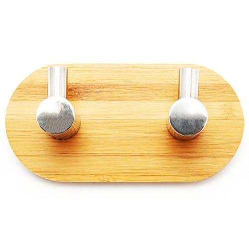 COOLIFUN Oak Leaf Heavy Duty Wood &Stainless Steel Decorative Stick ...
