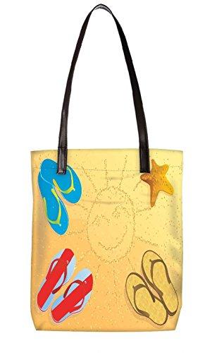 Snoogg Strandtasche, mehrfarbig (mehrfarbig) - LTR-BL-3969-ToteBag
