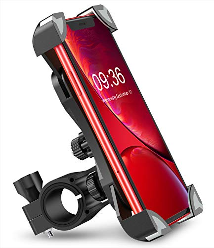 Bovon-Anti-Shake-Bike-Phone-Mount-360-Rotation-Universal-Bicycle-Motorcycle-Phone-Mount-Holder-Stand-Cradle-Clamp-Compatible-with-iPhone-12-Pro-Max12-mini1211-ProXRXS-MAX-Samsung-Galaxy-S20