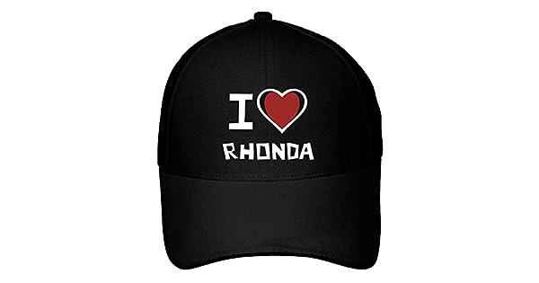 Idakoos I Love Rhonda Bicolor Heart - Nombres Femenino - Gorra De Beisbol   Amazon.com.mx  Ropa a794910f45f
