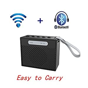 Hangang Bluetooth Speakers, Ultra Portable Wireless Bluetooth Speaker, Wireless Smart Speaker ,Noise prevention, panoramic sound effect,Field encircling
