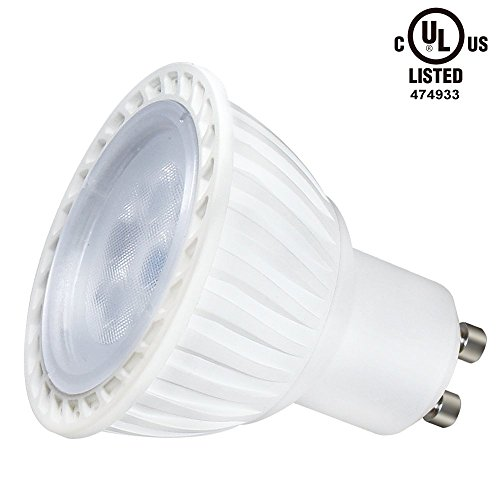 5w 50w equivalent gu10 led bulb ul listed 2700k soft white led spotlight 36 degree beam. Black Bedroom Furniture Sets. Home Design Ideas