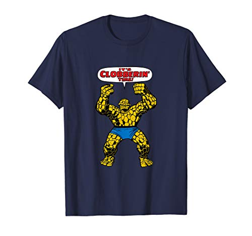 Marvel Fantastic Four The Thing Clobberin' Time T-Shirt -