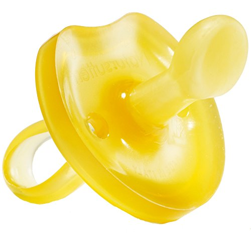 Natursutten BPA Free Natural Rubber Pacifier, Butterfly Orthodontic, 12 Months and Above