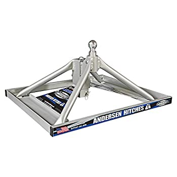 Image of Fifth Wheel Hitch Andersen 3220 - Aluminum Ultimate 5th Wheel Connection 2 Gooseneck Mount
