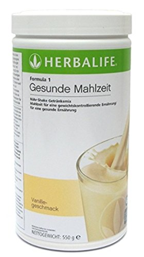 Herbalife Vitalite Formula 1 - Bebida con proteínas en polvo para adelgazar, sabor