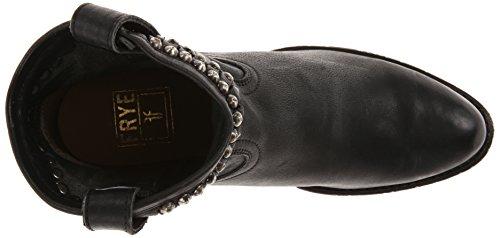 Stud Diana Boot Black Western Cut Frye Women's t7qgqH