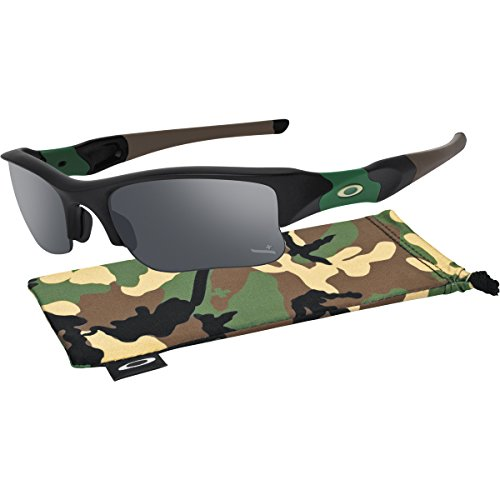 Oakley Mens Flak Jacket Special Edition Sunglasses OS Matte Black/Black - Oakley Specials
