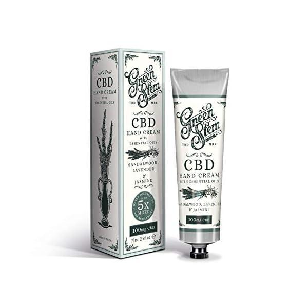 Green Stem CBD Hand Cream 100mg