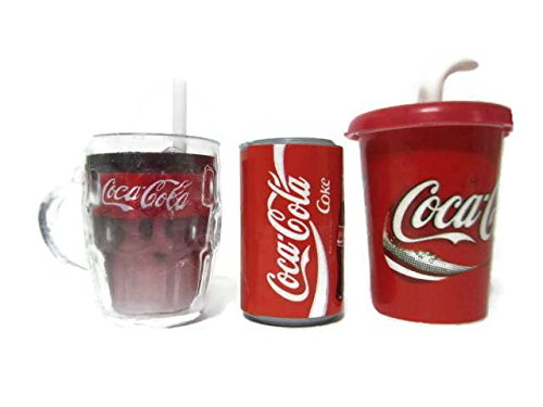 Kühlschrank Coca Cola : Amazon.de: coca cola kühlschrank magnete set 3 pcs.