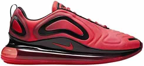 be0edbc03101be Nike Men s Air Max 720 Bright Crimson Black Ember Glow Mesh Running Shoes 12