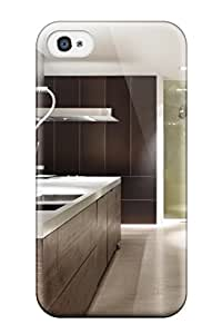 Excellent Design Modern Kitchen With Hidden Storage Case Cover For Iphone 4/4s