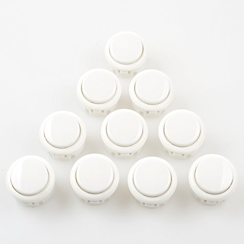 EG Starts OEM 10x Arcade 30mm Push Buttons Perfect Replace