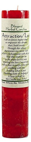 Blessed Herbal Attraction / Love Candle by Coventry Creations