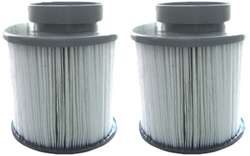 M-SPA Replacement Spa Filter Cartridge Kit-2 Pack Filter WF-B0300874 for All Mspa Inflatable Spas