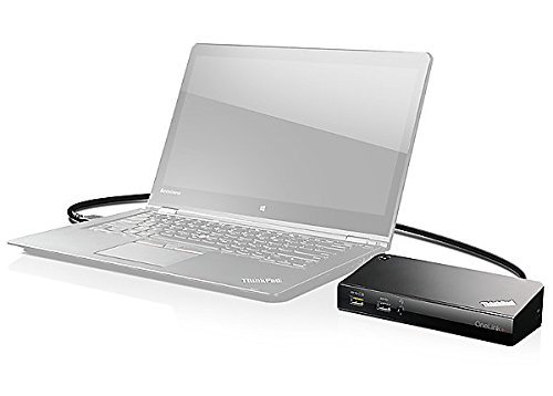 Lenovo Onelink Plus dock (40a40090us) For ThinkPad 13 (1st Gen), ThinkPad 13 (2nd Gen) , P40 Yoga, X1 Tablet (1st Gen) ,X1 Tablet (2nd Gen),ThinkPad Yoga by Lenovo (Image #4)