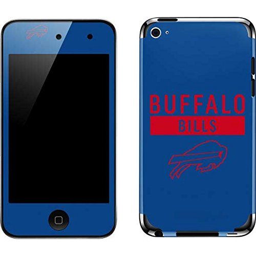 Skinit NFL Buffalo Bills iPod Touch (4th Gen) Skin - Buffalo Bills Blue Performance Series Design - Ultra Thin, Lightweight Vinyl Decal Protection