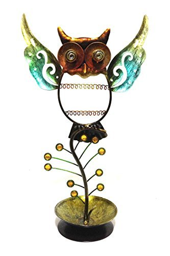 Bejeweled Display® Owl Ring, Necklace & Earring Holder Combo Jewelry Display JD-187