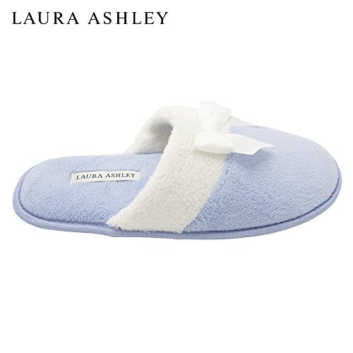 Terry Laura Sizes Slipper Bow Colors Ashley Ladies Scuff More amp; Blue see vxIqrIREw