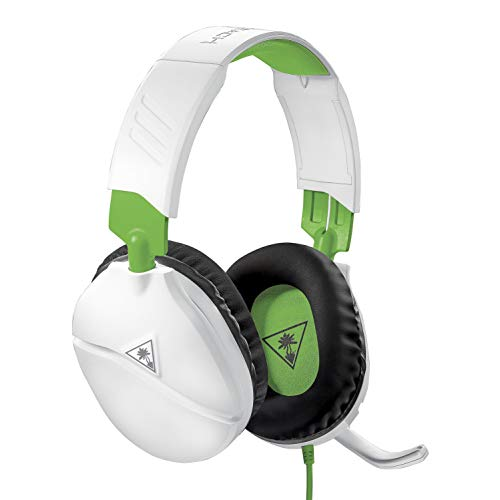 Turtle Beach Recon 70 White Gaming Headset for Xbox One, PlayStation 4 Pro, PlayStation 4, Nintendo Switch, PC, and Mobile - Xbox One (One Gaming Headset Xbox)