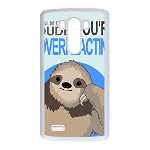 LG G3 Cell Phone Case White_OVERREACTING Tuqab