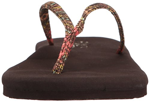 Flojos Womens Lulu Plat Marron / Multi