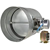 Suncourt ZC110 10 in. Automated Damper Normally Closed