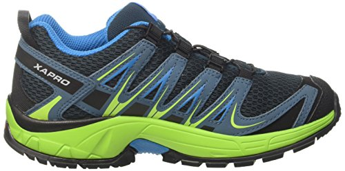 Blue Pro Shoes Reflecting Pond Hawaiian Textile Synthetic Kids Running Outdoor XA 3D Blue Green Unisex Salomon Trail Lime t7q8pp