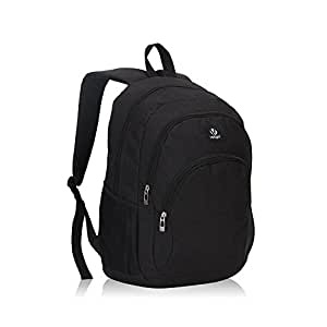 Veegul Cool Backpack Kids Sturdy Schoolbags Back to School Backpack for Boys Girls,Black