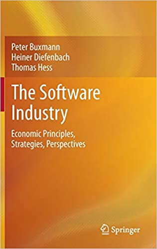 Strategies Perspectives Economic Principles The Software Industry