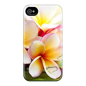 High Impact Dirt/shock Proof Case Cover For Iphone 6 (exotic Plumeria)