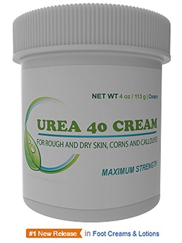 Urea 40% Percent Cream/Gel for Hands, Feet, Elbows and Knees - Corn &...