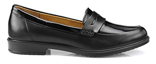 Black black Women's Hotter EXF Dorset Black Patent Loafers xwBAqIcYSB
