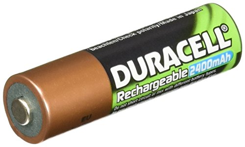 e AA Batteries 2400mAh 4 Count ()