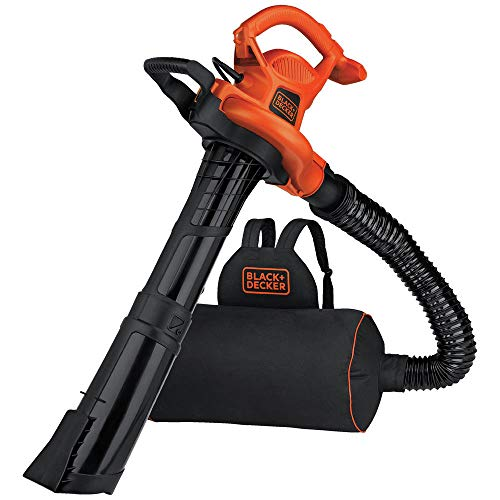 BLACK+DECKER BEBL7000 Back Pack Leaf Blower Vacuum and Mulcher