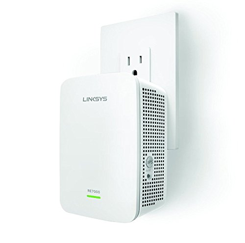 Linksys AC1900 Gigabit Range Extender / WiFi Booster / Repeater MU-MIMO (Max Stream RE7000) - Max Range