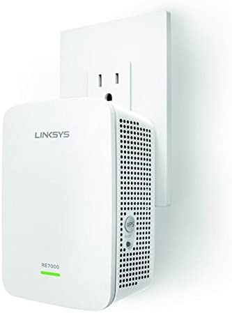 Linksys RE7000 AC1900 Gigabit Range Extender / Wi-Fi Booster / Repeater MU-MIMO (Max Stream RE7000)