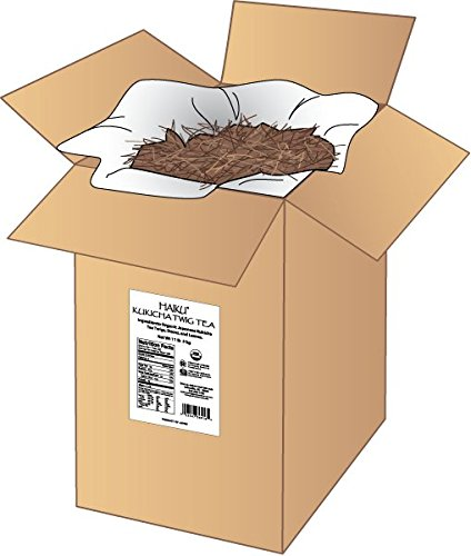 Haiku Japanese Kukicha Twig Tea,  Loose, 11-Pound  Box