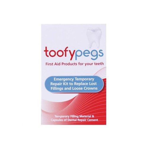 Toofypegs Toofypegs 0050500 Dental Repair cement, Crown and Filling Replacement